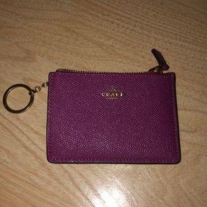 Coach Mini Skinny Id Case/Wallet